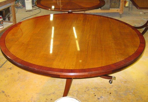 Реставрация полированного стола своими руками